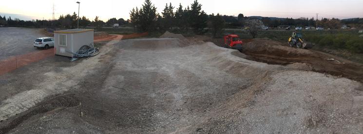 travaux mireval skatepark